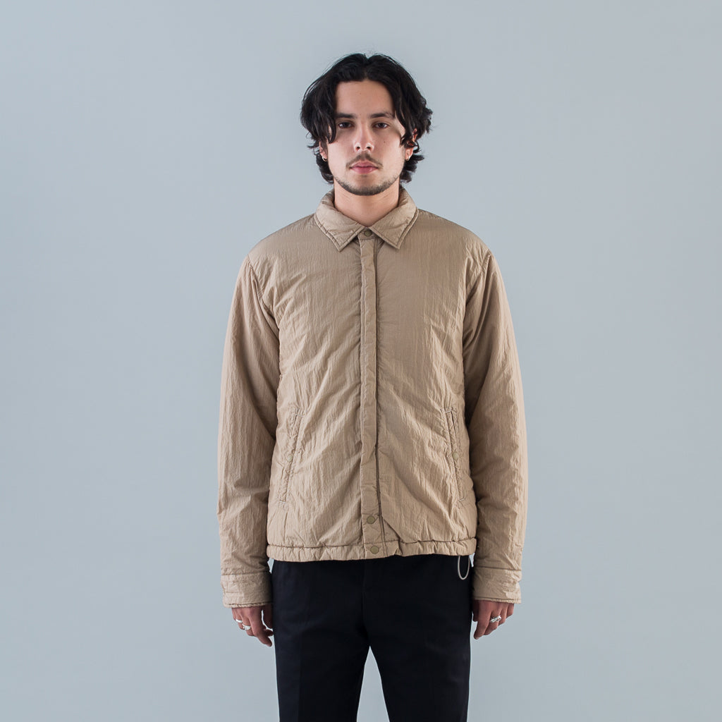 CARPENTER PUFF JACKET NYLON TAFETA - BEIGE