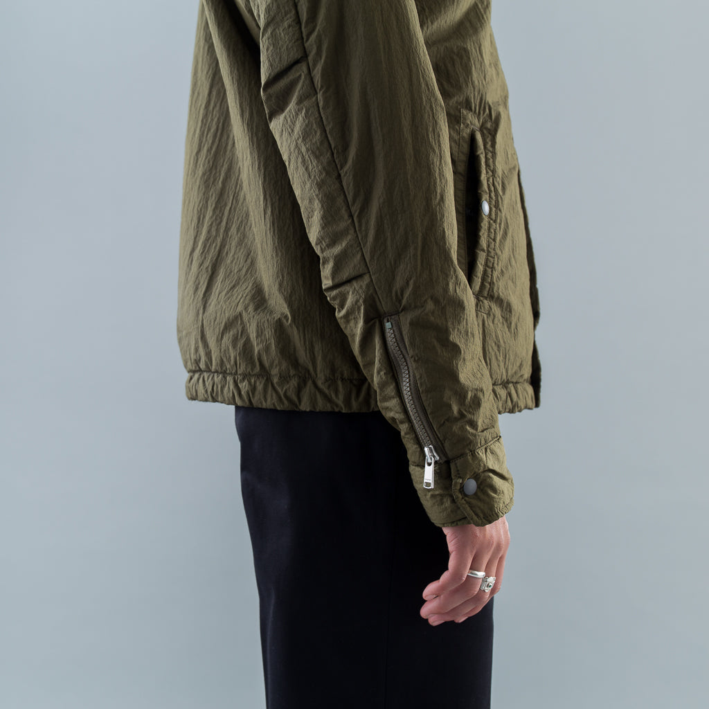 CARPENTER PUFF JACKET NYLON TAFETA - OLIVE