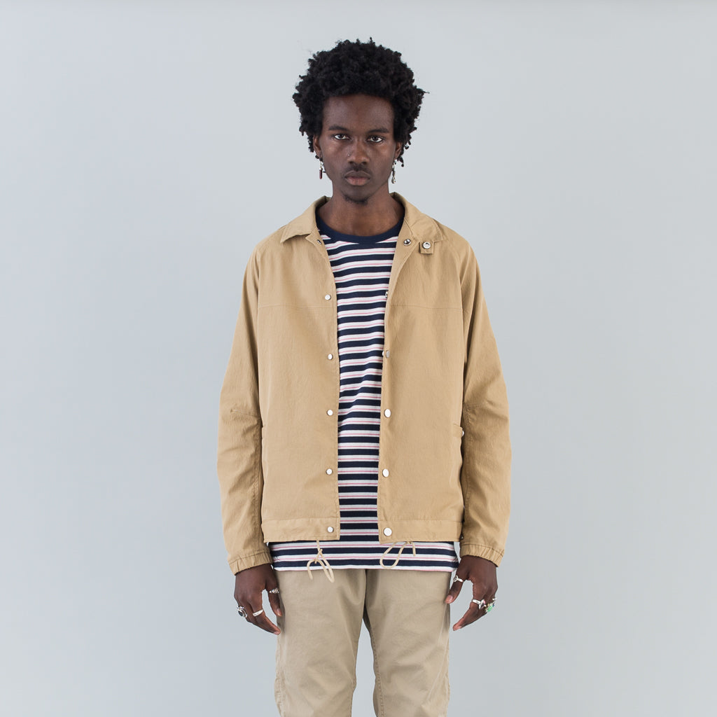 EDUCATOR JACKET POLY CHINO CLOTH - BEIGE