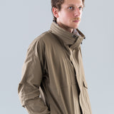 CYCLIST JACKET N/P TAFFETTA STRETCH W/ WINDSTOPPER 3L - EUCALYPTUS