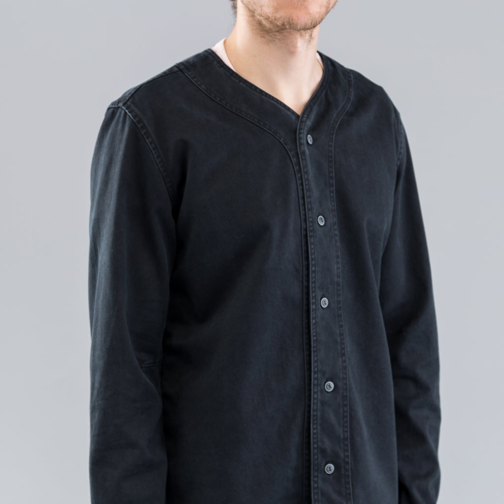 HANDYMAN SHIRT COTTON TWILL - BLACK