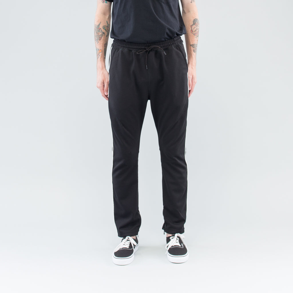 HIKER EASY PANTS TAPERED FIT P/R/P JERSEY - BLACK