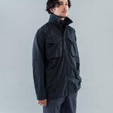HUNTER SHIRT JACKET COTTON RIPSTOP - BLACK