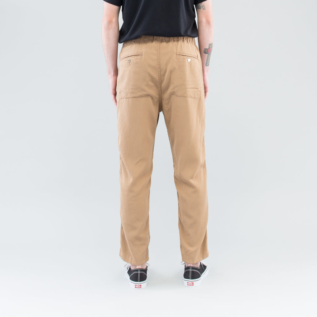 MANAGER EASY PANTS RELAX FIT P/W TWILL STRETCH - BEIGE