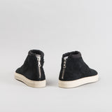 ARCHIVE SALE - NONNATIVE - BLACK TRAVELER TRAINER MID COW SUEDE