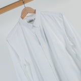 ARCHIVE SALE - NONNATIVE - DWELLER B.D. SHIRT COTTON BROAD WHITE