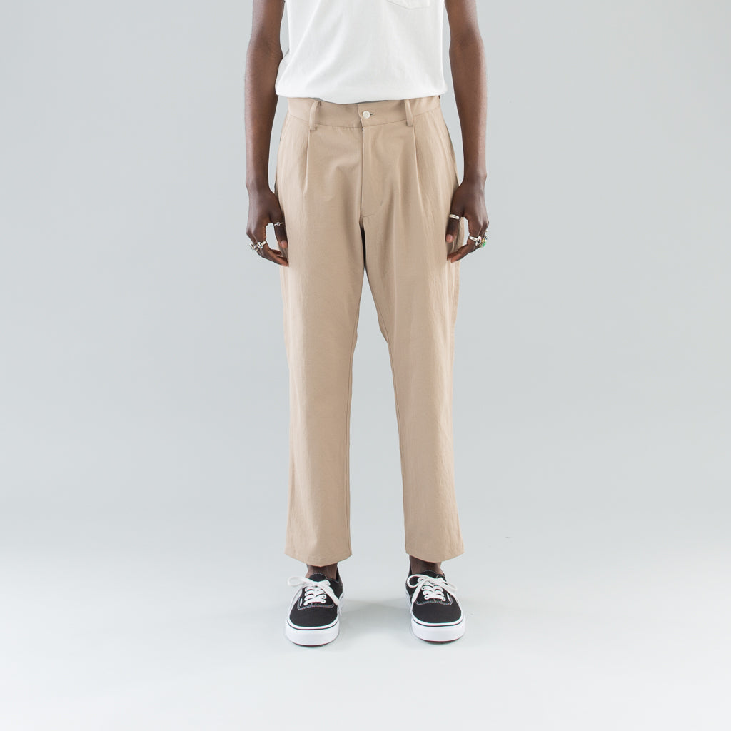 OUTSEAM TROUSERS - BEIGE