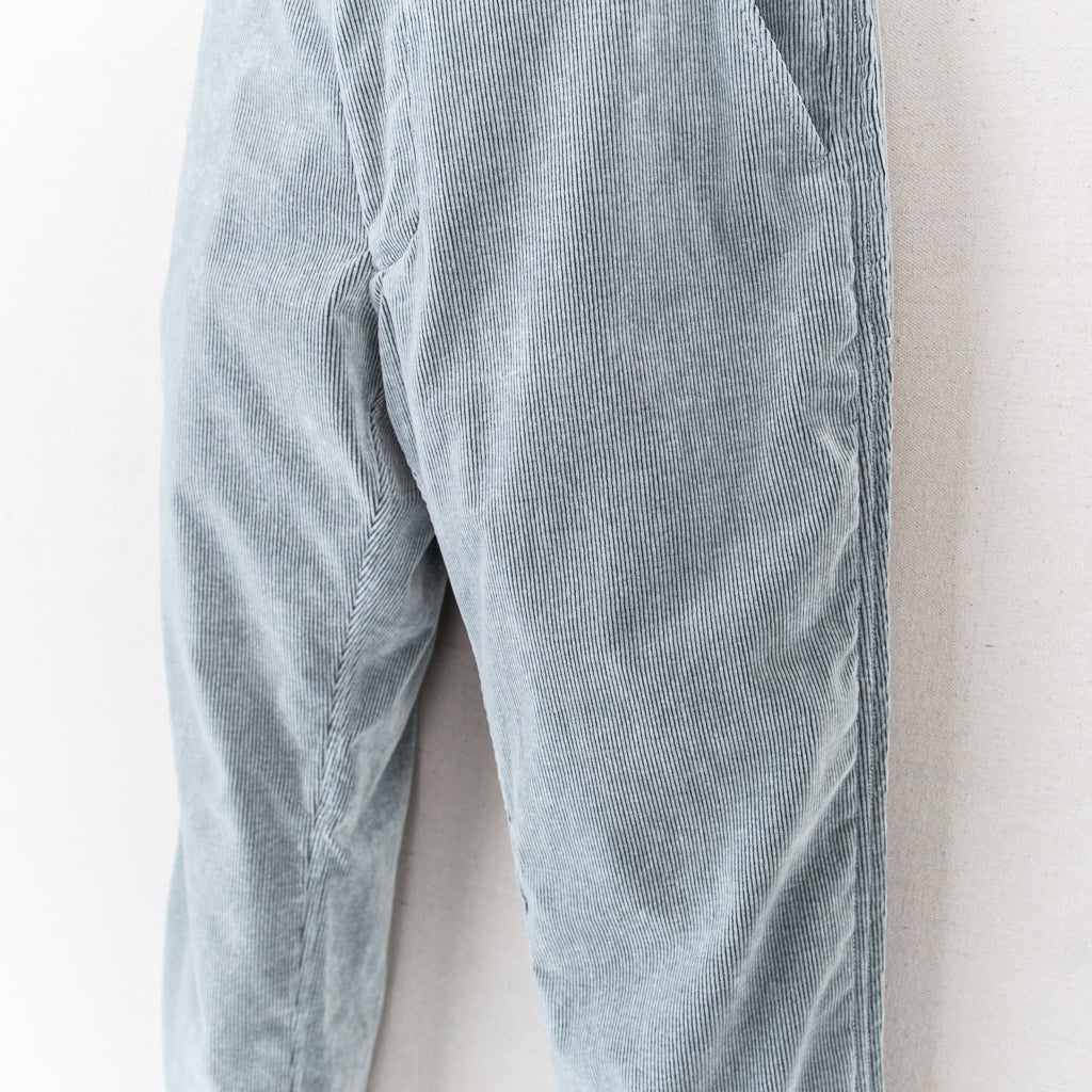 OUTSEAM CORDUROY TROUSERS - GREY