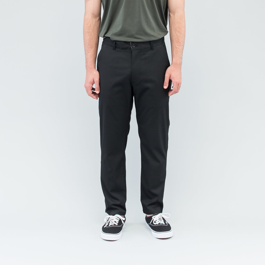 OUTSEAM TROUSERS - BLACK