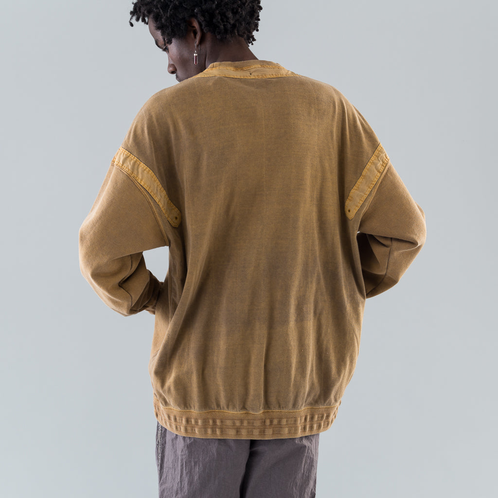 THE DHAKA SWEATSHIRT - BUCKTHORN BROWN