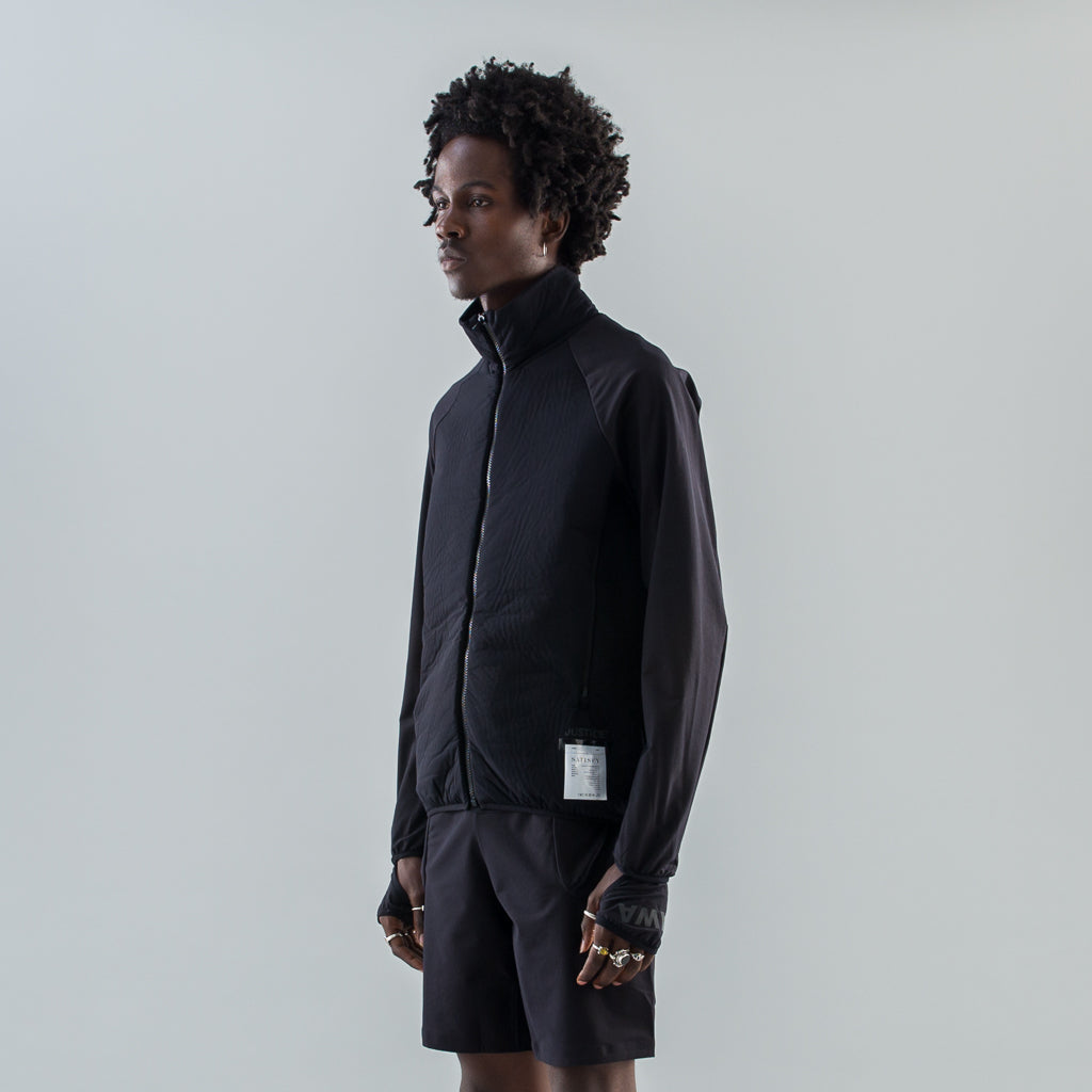 JUSTICE SPACER RUNNING JACKET - BLACK