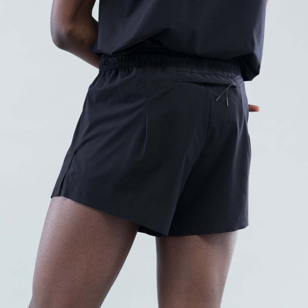 "JUSTICE SHORT DISTANCE 2.5"" SHORTS - BLACK"