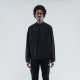 JUSTICE RUNNING JACKET - BLACK