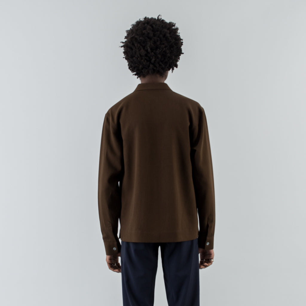 SHIRT GRAVEL - BROWN