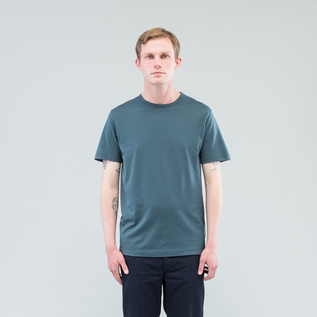 Q82 SHORT SLEEVE CREW NECK - SAMPHIRE