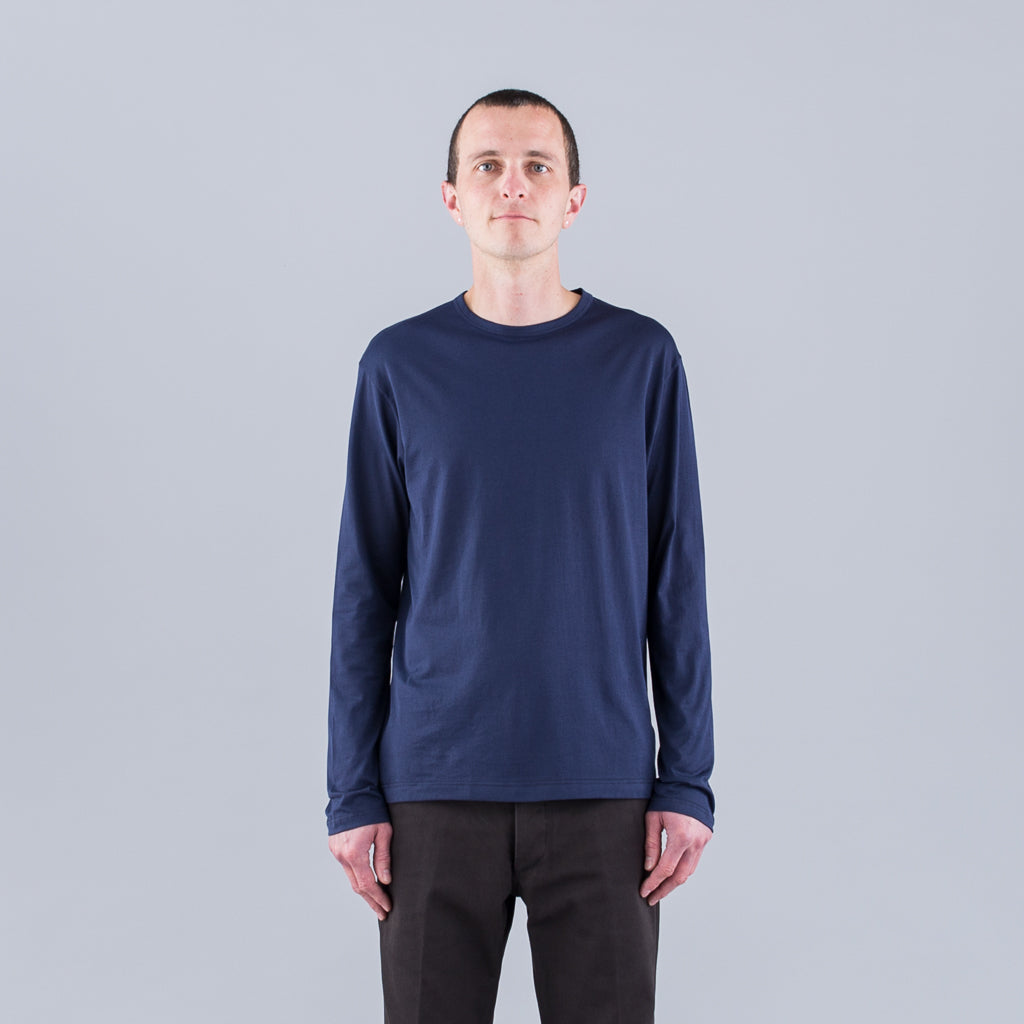 Q82 LONG SLEEVE CREW NECK - NAVY