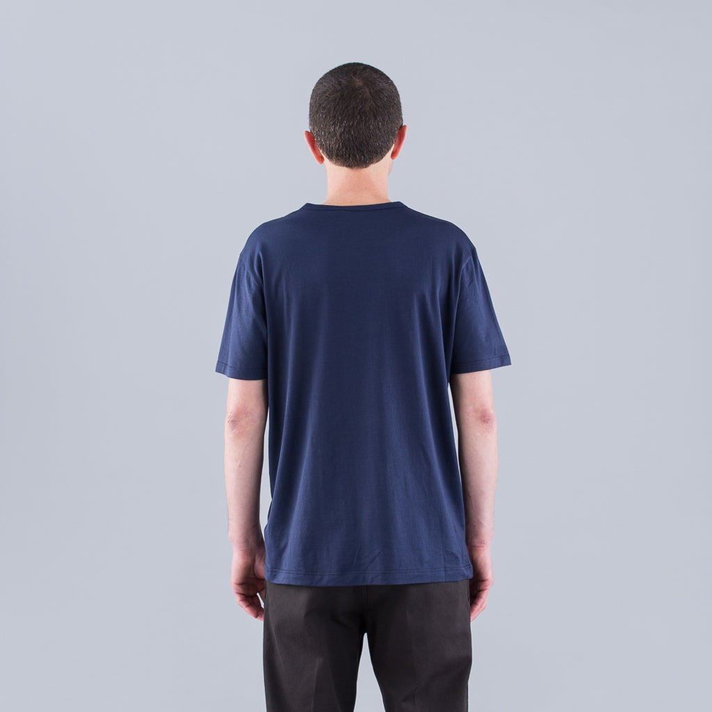Q82 SHORT SLEEVE CREW NECK - NAVY