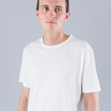 Q82 SHORT SLEEVE CREW NECK - WHITE