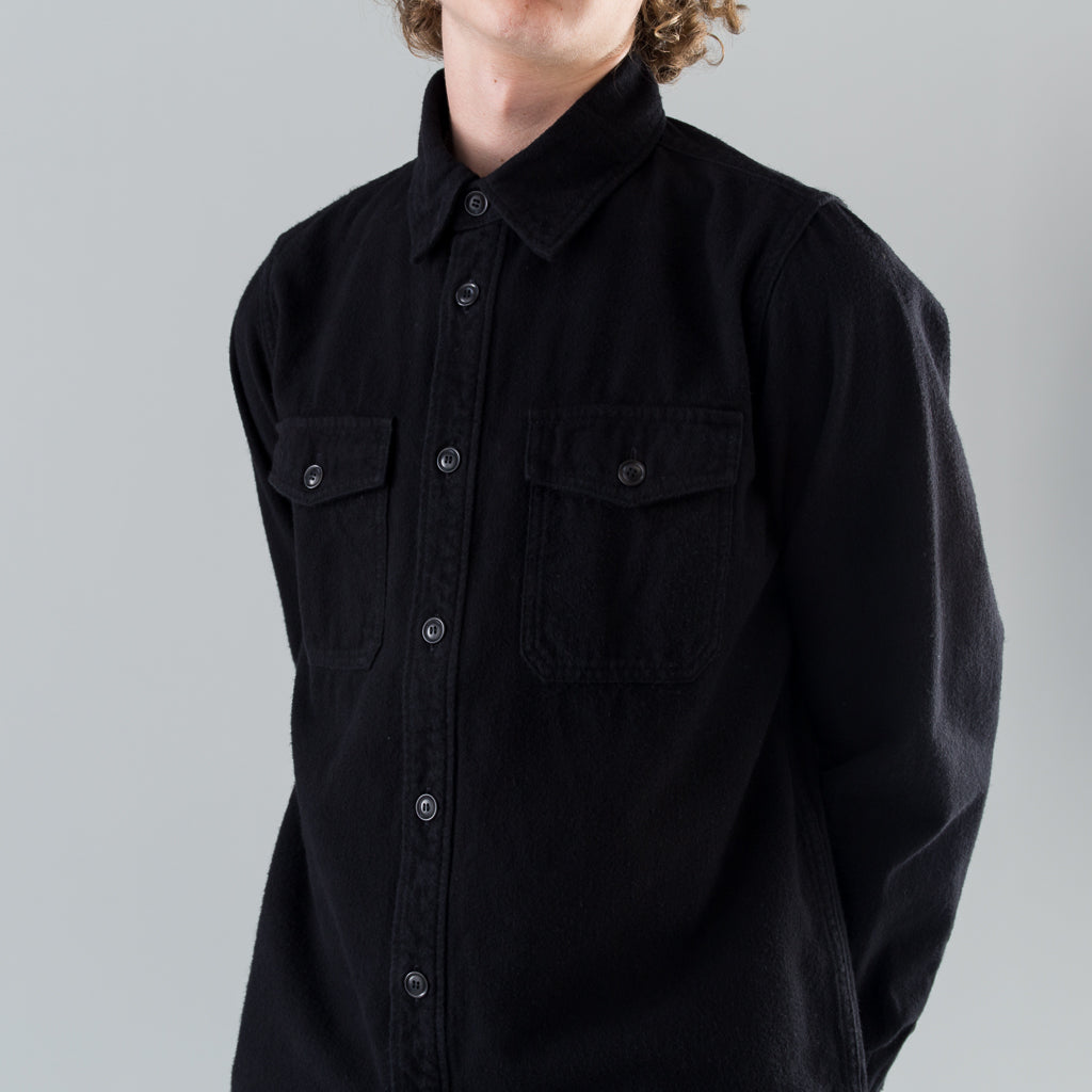 BLACK ELK FLANNEL - BLACK