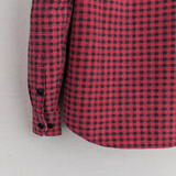 BLACK ELK FLANNEL (GINGHAM CHECK) - RED