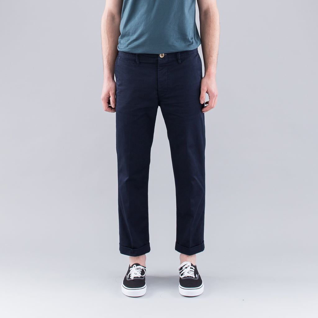 HIGH WATER CHINOS - NAVY
