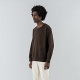 JUMBO SWEAT L/S (N.D.) - DARK MUD