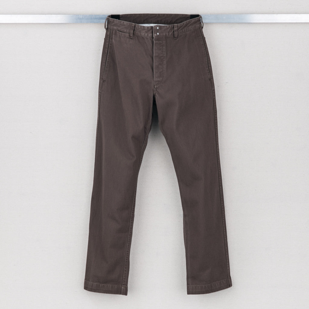 PASTORAL PANTS (DMGD CHINO) - BROWN