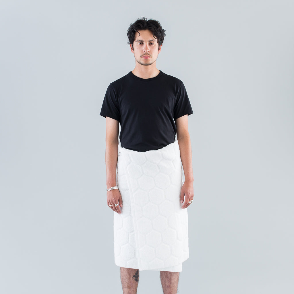 ULTIMATE BATH TOWEL (SEA ISLAND) - WHITE