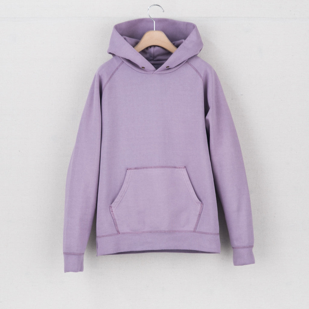 RAGLAN HOODIE P.O. (VEGGIE DYE) - LIGHT PURPLE