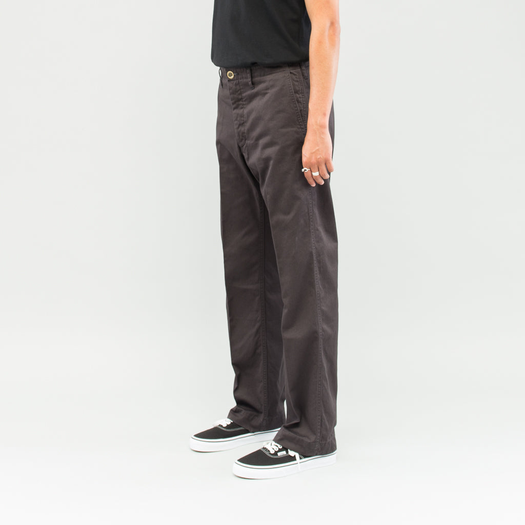 CHINO PANTS - BLACK