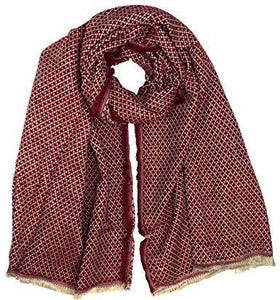 Plaid Tartan Herringbone Reversible Oversized Winter Blanket Scarf - Le Miller Store