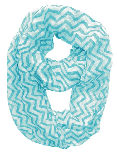 Lightweight Soft Animal Owl Printed Scarf Shawl (Teal Black) - Le Miller