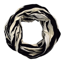 Elegant Light Weight Two Color Infinity Circle Loop Scarf Long Scarf - Le Miller Store