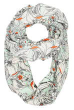 Exclusive Vintage Floral Prints Infinity Loop Scarves Light Scarf - Le Miller Store