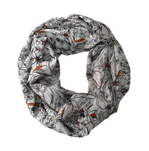 Peach Couture Exclusive Floral Print Vintage Infinity Loop Scarf - Le Miller Store