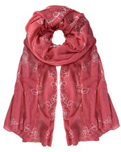 All Seasons Floral Embroidered Flower Summer Shawl Scarf Wrap - Le Miller