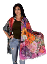 Womens Soft Fashion Artistic Digital Print Long - Le Miller Store
