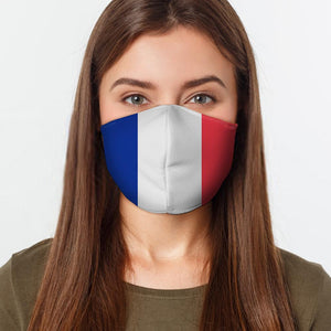 French Flag Face Cover - Le Miller Store
