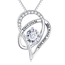Mother's Day I Love You To The Moon & Back  Elements Necklace & Gift - Le Miller