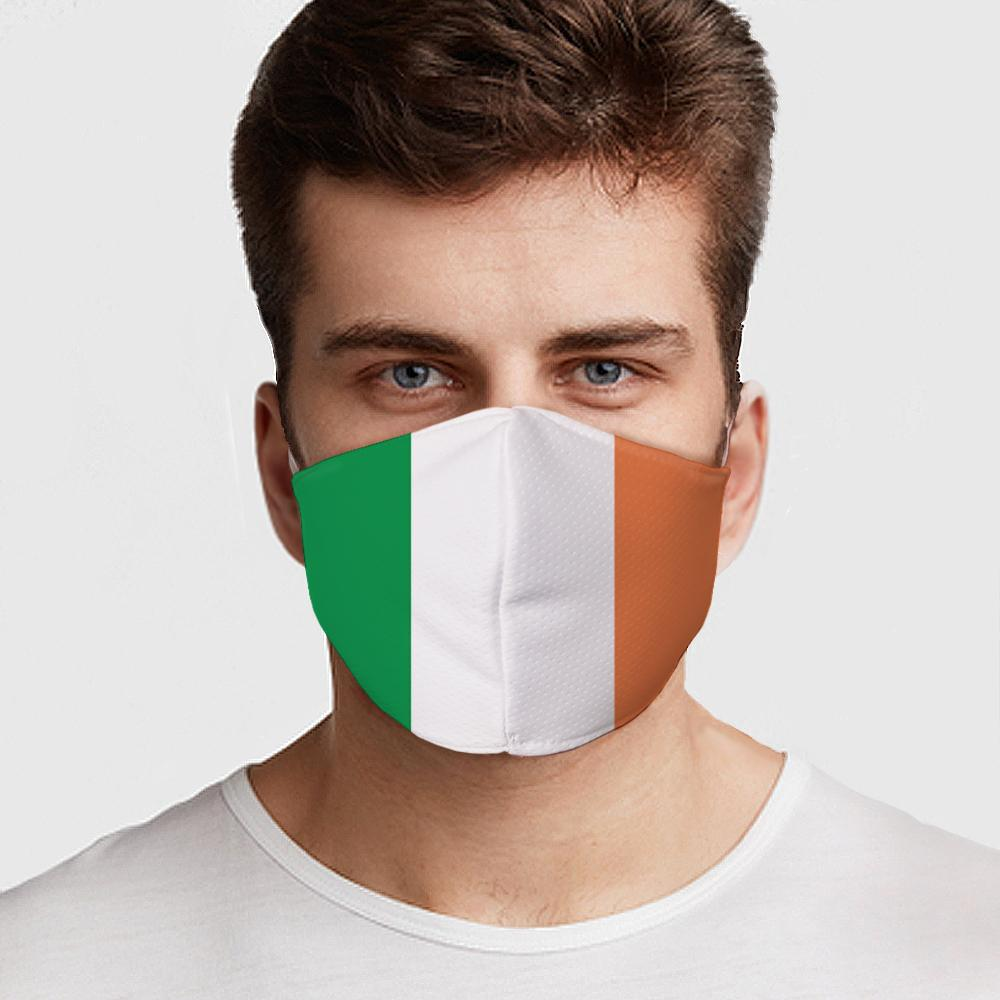 Irish Flag Face Cover - Le Miller Store