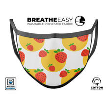 Tropical Summer Love v5 - Made in USA Mouth Cover Unisex Anti-Dust - Le Miller Store