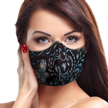 Seamless Butterfly Face Mask - Le Miller Store