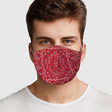 Red Bandana Face Cover - Le Miller Store