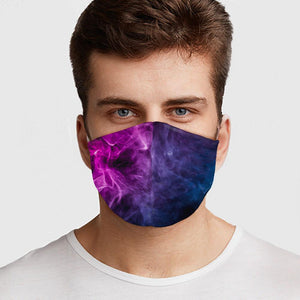 Purple Smoke Face Cover - Le Miller Store