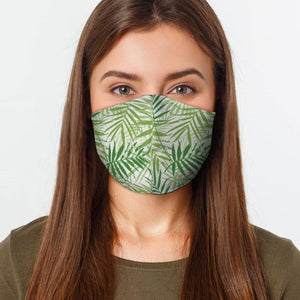 Palm Leaves Face Cover - Le Miller Store