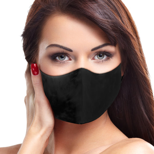 Solid Black Face Mask - Le Miller Store