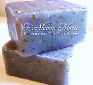 Peppermint Tea Tree Soap - Le Miller Store