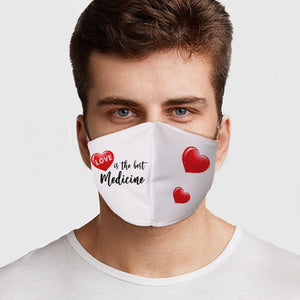 Love Medicine Face Cover - Le Miller Store