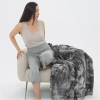 Faux Fur Weighted Blanket
