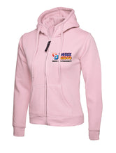 DELUX Radio Ladies Classic Full Zip Hooded Sweatshirt